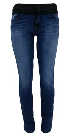 True Religion Women's Black Coated Halle Jeans W4SA999NK6 BYUM Till The End 32