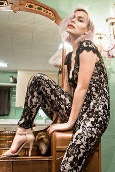 Haute Hottie Laced Down Jumpsuit