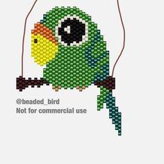 Beaded Bird