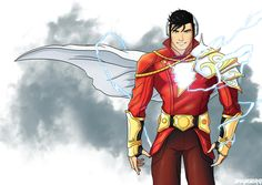 Want to discover art related to Shazam? Check out inspiring examples of Shazam artwork on DeviantArt, and get inspired by our community of talented artists. Arte Dc Comics, Shazam Dc Comics, Dc Comics Heroes, Shazam Comic, Captain Marvel Shazam, Ms Marvel, Superhero Characters, Dc Comics Characters, Superhero Design