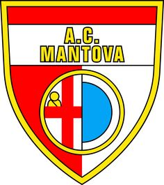Mantova of Italy Crest. Football Team Logos, Everton Fc, Sports Clubs, Badge, Soccer, Crests, Mantua Italy, Mustang, Milan