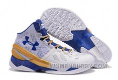 dd78f33537b Find Under Armour Curry 2 White Blue Gold Cheap Sale Top Deals online or in  Pumarihanna. Shop Top Brands and the latest styles Under Armour Curry 2  White ...