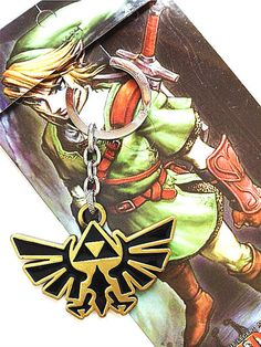 The Legend of Zelda Triforce Keychain Pendant Do you love The Legend of Zelda?…