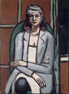 Max Beckman - Quaippi in Grey - 1948