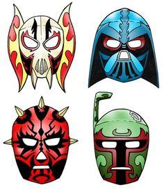 More Printable Masks