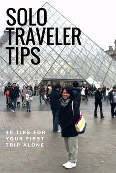Interested in traveling by yourself but a bit nervous? Don't be!! I'm a solo traveler and went on a 19 month, 19 country round the world trip and a ton of trips by myself since. I shared 40 helpful tips for your first trip alone | http://www.rtwgirl.com/solo-traveler-tips/