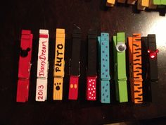 Fish Extender Disney Gift Clothespin Magnets