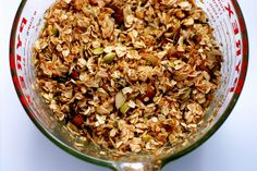 Granola Adapted from Calle Ocho, New York City  In the couple years I have been making my own granola, I have learned a few things that I ho...