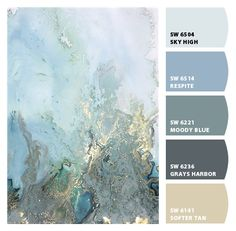 Paint colors from ColorSnap by Sherwin-Williams Beach Color Palettes, Rustic Color Palettes, Earthy Color Palette, Rustic Colors, Bright Paint Colors, Door Paint Colors, Bathroom Color Schemes, Paint Color Schemes, Sherwin Williams Color Palette