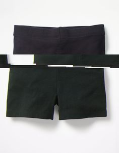 Turn any skirt into an all-action outfit with these lightweight jersey shorts. Pop them on underneath and you can climb, tumble and hang off the monkey bars all you want (or simply wear them on their own, of course). The short length means they won't spoil the look of your favourite party dress either.