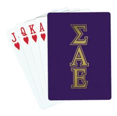 Campus Classics - SAE Playing Cards, $6.95 (http://www.campus-classics.com/sae-playing-cards/)