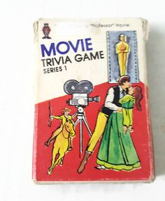 1984 Hoyle Movie Trivia Game Cards Series 1 Pocket Trivia Film Buff Novelty Gift 848 Questions & Answers by ThriftyTheresa