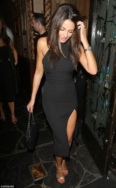 She wasn't named the sexiest woman in the world for no reason: Michelle Keegan put on a le...