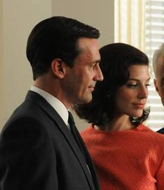 Don Draper and Megan Draper on Mad Men Season 4