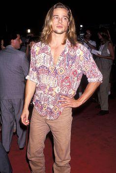 Actual 90s babe, Brad Pitt