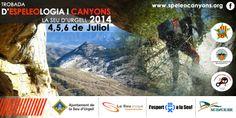 Espeleo Club de Descenso de Cañones (EC/DC): Trobada d'Espeleologia i Canyons (La Seu D'Urgell,...