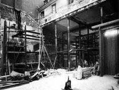 En construcción.  La Maison de Verre. Paris, 1928-1931
