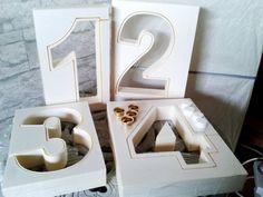 X-Casting Mould Advent figures 15 x 4 cm Concrete Crafts, Concrete Projects, Dyi, Rose Gold Christmas Decorations, Concrete Casting, Etsy, Diy And Crafts, Creations, It Cast