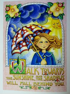 mary engelbreit art   sunshine and shadows   Merry Mary Englebrite