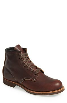Red Wing 'Blacksmith' Plain Toe Boot (Men) available at #Nordstrom