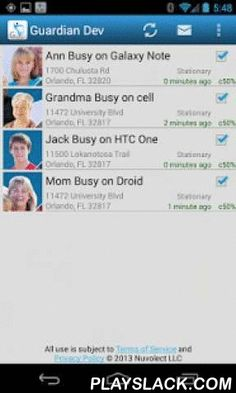 Secure Family Locator  Android App - playslack.com ,  My-Guardian-Angels.com (MGA) is a secure GPS tracker and GPS logger for family communication and coordination. MGA is non-creepy, allowing users to go offline instantly. Users have complete privacy when they want it, and have best in the industry accuracy and battery saving technology when they are sharing. The MGA Instant map provides eye-in-the-sky updates every 8-10 seconds allow you to guide someone around traffic congestion or with…