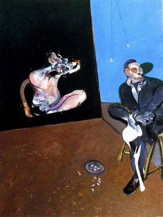 Francis Bacon, Two Studies of George Dyer on ArtStack #francis-bacon #art