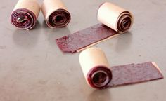 Fruit by the foot - another great fruit roll up recipe