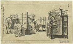 The Stocking-Frame And Other Apparatus Used In The Manufactory Of Stockings. From New York Public Library Digital Collections. Agricultural Revolution, Century Textiles, European History, New York Public Library, Middle Ages, Archaeology, 18th Century, Painting & Drawing, Weaving