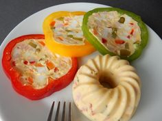 Main Meals, Finger Foods, Food Art, Stuffed Peppers, Vegetables, Recipes, Finger Food, Stuffed Pepper