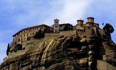 Monasterio de Meteora, #Grecia.  Monastery of Meteora, #Greece.