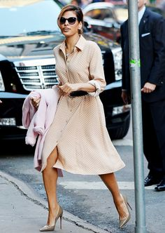 Not Just for the Young: 10 Pieces You Can Wear at EVERY Age via @WhoWhatWear Shirtdress