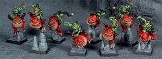 Squig Hoppers painted by Ricky Fischer