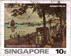 Old stamp #sgmemory #archivingsg