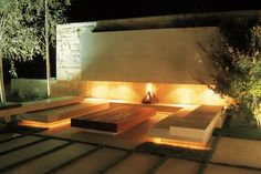 ASLA 2008 Professional Awards Bassil Mountain Escape in Faqra, Lebanon by Vladimir Djurovic Landscape Architecture Modern Landscaping, Outdoor Landscaping, Landscape Lighting, Outdoor Lighting, Cove Lighting, Lighting Design, Outdoor Rooms, Outdoor Gardens, Outdoor Seating