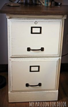 15 Filing Cabinet Makeovers You've Got to See to Believe