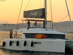 Serenity a Lagoon 520, for crewed charters in Greek islands by Istion Yachting. For more information, please click the link below: http://www.istion.com/catamarans/lagoon-52