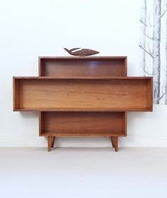 Fred Ward; Myrtle Wood Bookcase, 1950s.