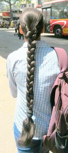 Plaits Hairstyles, Slick Hairstyles, Indian Hairstyles, Two Braids, Braids For Long Hair, Braid Hair, Beautiful Braids, Beautiful Long Hair, Indian Long Hair Braid