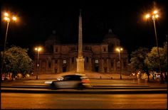 The Great Beauty of Rome at night
