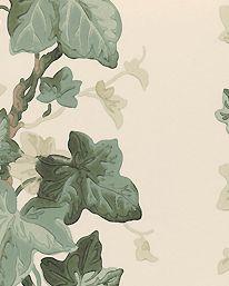 Tapet Bowery Green/Cream från Sanderson Tapetorama 650 kr/rulle