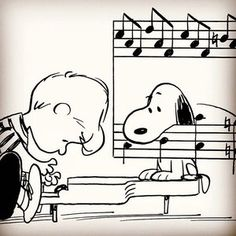 Schroeder ❤️s Beethoven. Can you relate? On March the Staatskapelle Weimar Orchestra of Germany will perform an all-Beethoven program, including the iconic Symphony No. Snoopy Images, Snoopy Pictures, Snoopy Comics, Peanuts Cartoon, Peanuts Snoopy, Cartoon Dog, Winnie The Poo, Piano Man, Cross Stitch Pictures