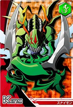 Snimon Digimon Crusader card