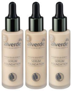 Alverde Serum Foundation