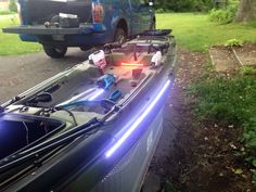 Great kayak LED lighting application.