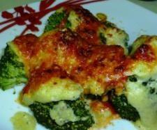 Receta Brócoli gratinado con bechamel de calabacín