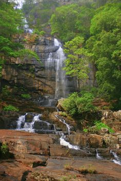 Murombodzi Falls, Gorongosa Mountain, Mozambique- Thank goodness its protected now!