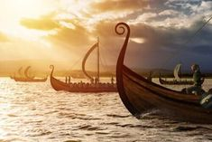 The Vikings were raiders from Scandinavia who terrorized Europe for centuries. But how much of what we know about them is myth? Who really were the Vikings? Tolkien, Varangian Guard, Asgard, Large Glass Jars, Viking Culture, Ancient Vikings, Viking Age, Viking Ship, Hu Ge