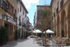 Plaça de Baix #xabia #javea #costablanca #xabiahistorica www.xabia.org