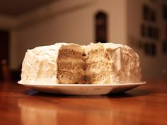 Heavenly Eggnog Cake