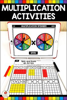 Multiplication And Division Practice, Multiplication Facts Worksheets, Division Math Games, Teaching Multiplication, Math Board Games, Free Math Games, Math Resources, Math Activities, Learning Games